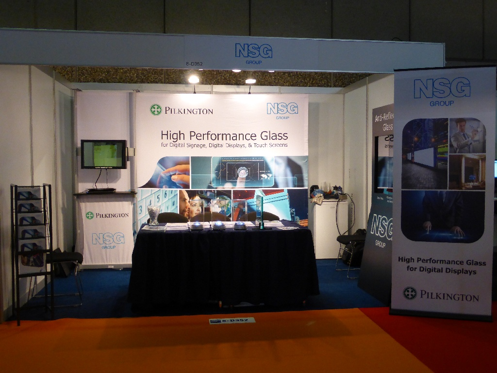 NSG Group booth at ISE 2015